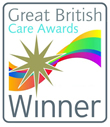 Excellence in social care. We are a Great British Care Awards Winner